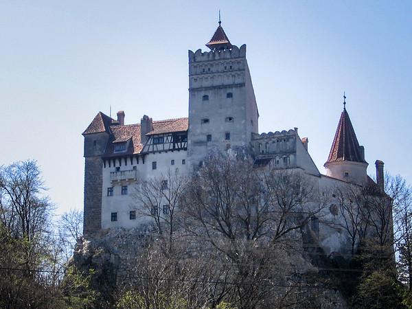 Dracula's castle or Bran Castle, Transylvania, Romania