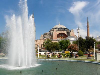 Hagia Sofia museum in Istanbul, Turkey