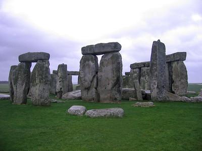 Ancient prehistoric monument of Stonehenge, England, United Kingdom