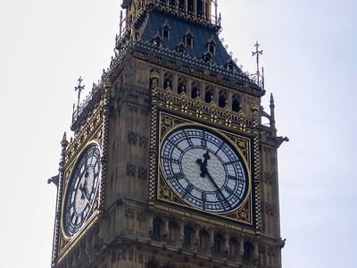 Big Ben Tower in London, England, United Kingdom