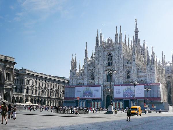 Milan Cathedral or Duomo di Milano, Milan, Italy