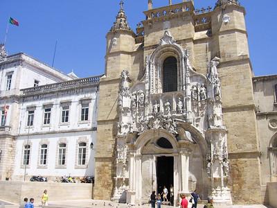 Santa Cruz Monastery in Coimbra, Portugal