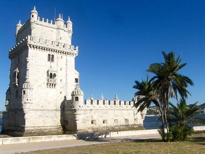 Tower of Belem in Lisbon, Portugal