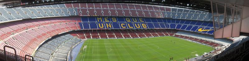 FC Barcelona Stadium, Barcelona, Spain