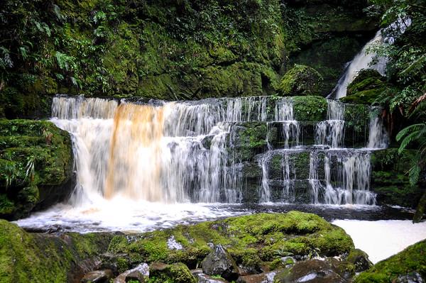 McLean Falls, South Island, New-Zealand