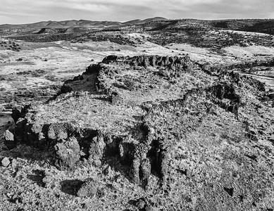 Hilltop Ruin east of Prescott