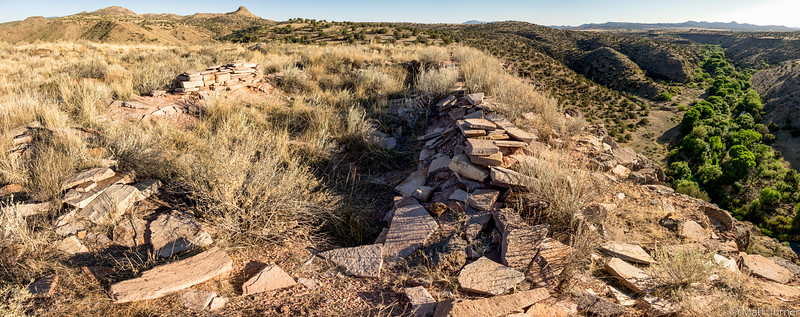 Ruin Walls and Upper Verde River