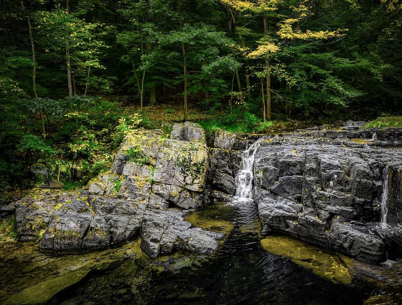 The Falls Near Asheville