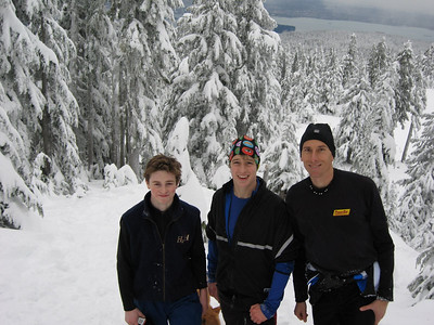 Hollyburn Mountain snowshoeing
