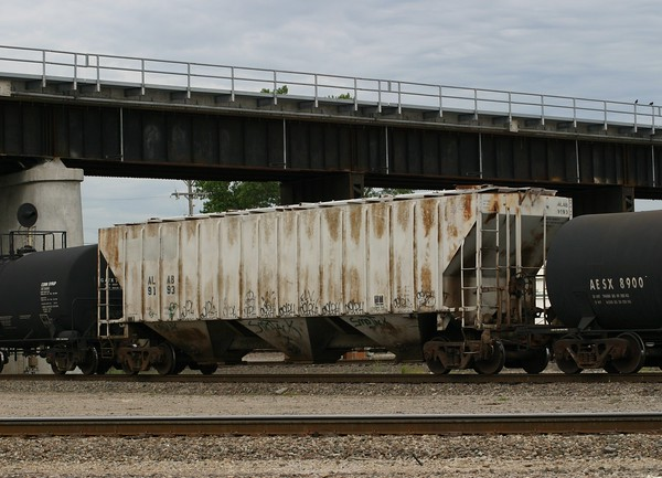 Alabama Railroad 3-Bay PS 4740 cu. ft. Covered Hopper No. 9193