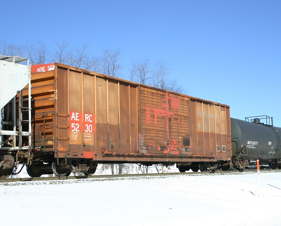 "Albany and Eastern Railroad 52'8"" FMC 5503 cu. ft. Double Door Boxcar No. 5230"