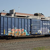 """Angelina and Neches River Railroad 60'10"""" 6589 cu. ft. Single Door Boxcar No. 602"""