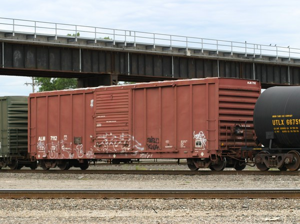 "Arkansas Louisiana and Mississippi Railroad 50'6"" PS 5344 cu. ft. Single Door Boxcar No. 7112"