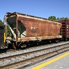Arkansas-Oklahoma Railroad 2-Bay ACF 2970 cu. ft. Covered Hopper No. 490297
