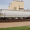 Atlantic and Western Railway 4-Bay 4650 cu. ft. Covered Hopper No. 316481