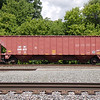 Atlantic and Western Railway 3-Bay Pullman Standard 4750 cu. ft. Covered Hopper No. 366627