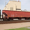 Atlantic and Western Railway 3-Bay Pullman Standard 4750 cu. ft. Covered Hopper No. 466828