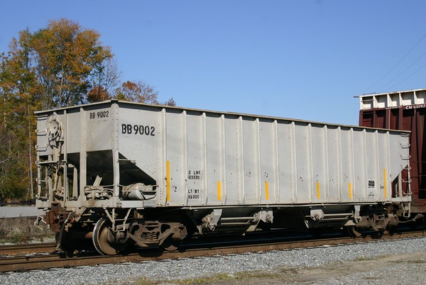 Buckingham Branch Railroad 2-Bay Ballast Hopper No. 9002