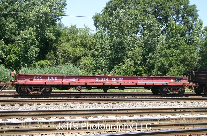 "Chicago South Shore and South Bend Railroad 46'8"" 1290 cu. ft. Coil Car No. 1660"