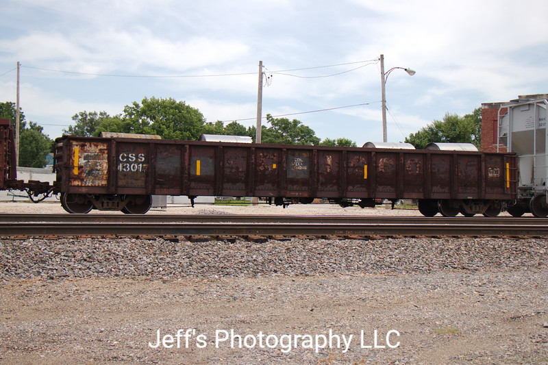 """Chicago South Shore and South Bend Railroad 52'6"""" Mill Gondola No. 13017"""