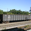 """Chicago South Shore and South Bend Railroad 52'6"""" 2743 cu. ft. Mill Gondola No. 30216"""