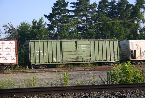 "Coe Rail Incorporated 50'7"" FMC 5258 cu. ft. Double Door Boxcar No. 10501"