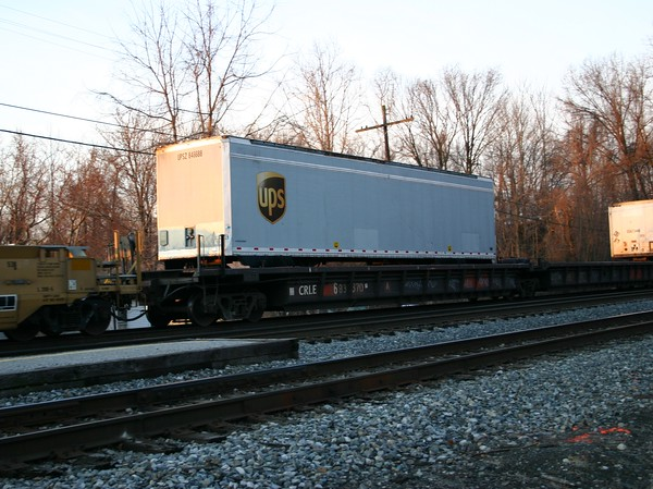 """Coe Rail Incorporated 42'2"""" Thrall Husky Stack Well Car No. 683670"""