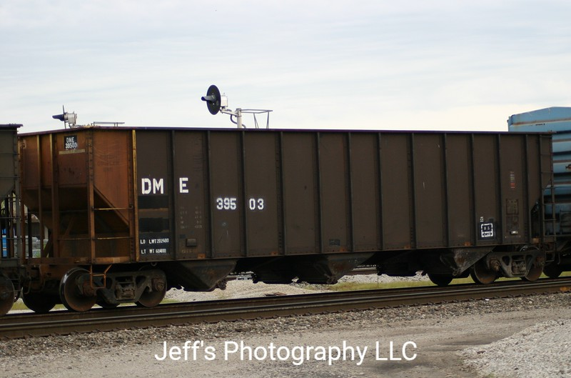 Dakota, Minnesota and Eastern Railroad 3-Bay 4000 cu. ft. Hopper No. 39503