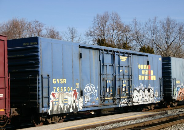 Galveston Railroad Double Plug Door Refrigerated Boxcar No. 765504
