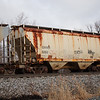 Genesee and Wyoming Railroad 2-Bay 3361 cu. ft. Covered Hopper No. 5263