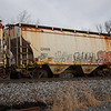 Genesee and Wyoming Railroad 2-Bay 3361 cu. ft. Covered Hopper No. 5011
