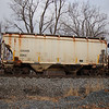 Genesee and Wyoming Railroad 2-Bay 3361 cu. ft. Covered Hopper No. 5063
