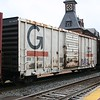 "Guilford Rail System 50'6"" PS 5315 cu. ft. Single Door Boxcar No. 79035"