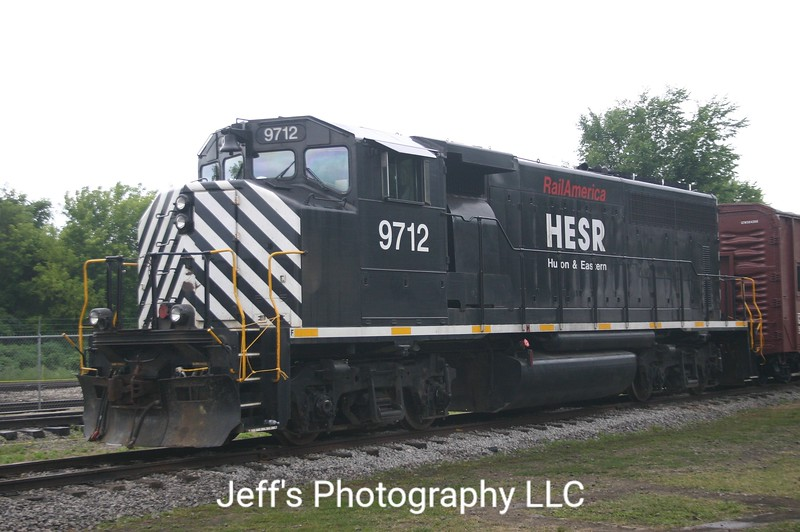 Huron & Eastern Railway GP40-2LW No. 9712