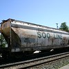 Iowa, Chicago & Eastern 3-Bay ACF 4650 cu. ft. Centerflow Covered Hopper No. 50375