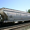 Iowa, Chicago & Eastern 3-Bay ACF 4650 cu. ft. Centerflow Covered Hopper No. 50390