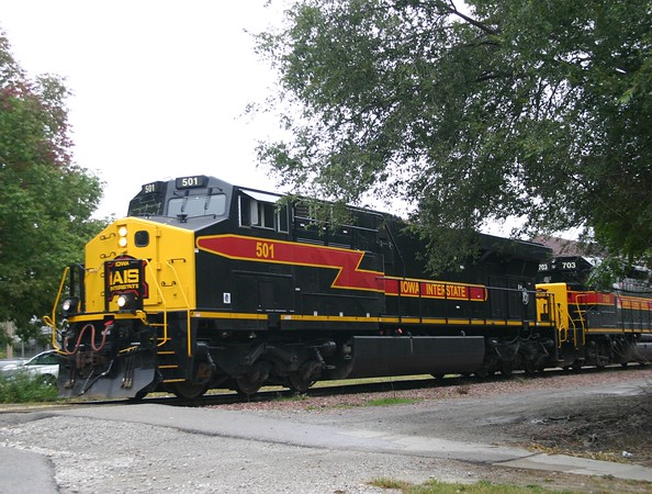 Iowa Interstate Railroad ES44AC No. 501
