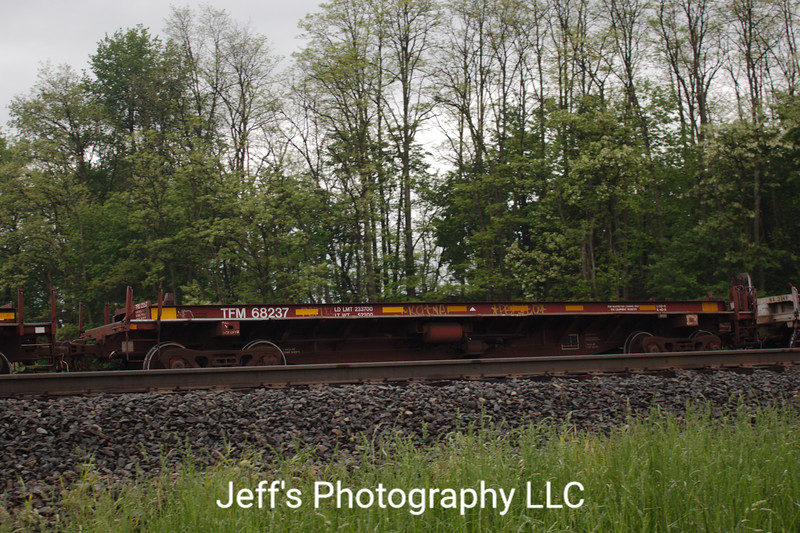 Kansas City Southern De Mexico 47' Coil Car No. 68237