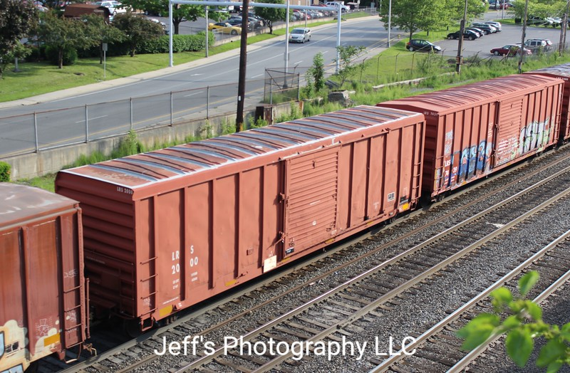 """Laurinburg and Southern Railroad 50'6"""" 5077 cu. ft. Single Door Boxcar No. 2000"""
