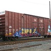 """Laurinburg and Southern Railroad 60'9"""" Trinity 7600 cu. ft. Double Plug Door High Cube Boxcar No. 471031"""