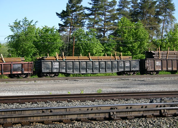 "Lowville and Beaver River Railroad 52'6"" Fishbelly Gondola No. 1001"