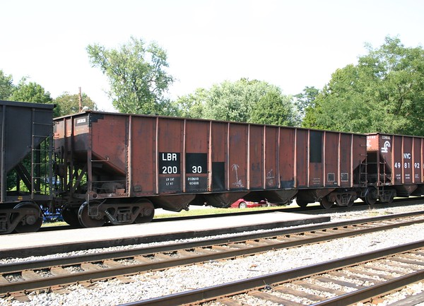 Lowville and Beaver River Railroad 4-Bay Hopper No. 20030