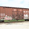 "Minnesota, Dakota and Western Railway 50'6"" Double Plug Door High Cube Boxcar No. 2428"