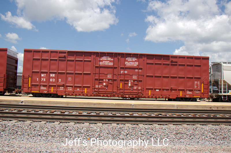 """Mississippi Tennessee Railroad LLC 60'9"""" Double Plug Door High Cube Boxcar No. 175022"""