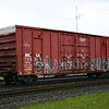 """Moscow, Camden & San Augustine Railroad 50'6"""" 6235 cu. ft. Double Plug Door High Cube Boxcar No. 728343"""