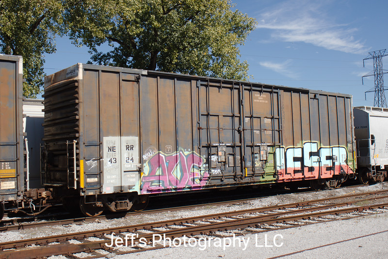 """Nashville and Eastern Railroad 52'6"""" 6505 cu. ft. Double Plug Door High Cube Boxcar No. 4324"""