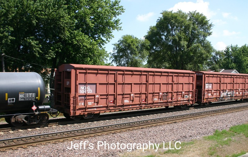 "Northwestern Oklahoma Railroad 50'6"" Thrall 4397 cu. ft. All-Door Box Car No. 504723"