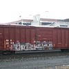 "Old Augusta Railroad 50'6"" FMC 5337 cu. ft. Boxcar No. 62218"