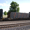 Saratoga & North Creek Railway Ebenezer Bulkhead Flat Car No. 62085