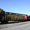 Sierra Railroad 73' Open Panel Centerbeam Flat Car No. 73018